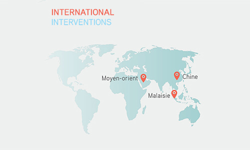 INTERNATIONAL INTERVENTIONS